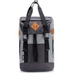 Plecaki męskie: Plecak w kolorze szaro-czarnym – 33 x 56 x 18 cm