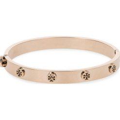 Bransoletka TORY BURCH - Logo Stud Hinge Bracelet 37396 Rose Gold 654. Czerwone bransoletki damskie na nogę Tory Burch, metalowe. Za 559,00 zł.
