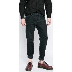 Diesel - Jeansy Akee. Czarne jeansy męskie slim Diesel. W wyprzedaży za 399,90 zł.