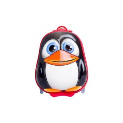 BAYER CHIC 2000 Bouncie Walizka twarda - Pingwin - czarny. Czarne walizki marki Jack Wolfskin, w paski, z materiału, małe. Za 159,00 zł.