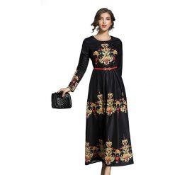 Długie sukienki: Sukienka w kolorze czarnym