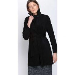 Płaszcze damskie: Czarny Płaszcz Heartbeats