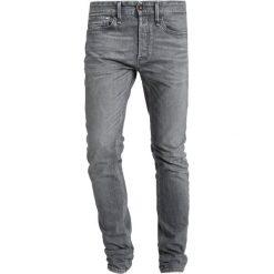 Denham BOLT Jeans Skinny Fit grey denim. Szare rurki męskie Denham, z bawełny. Za 799,00 zł.