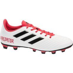 Buty skate męskie: buty piłkarskie Adidas Predator 18.4 adidas białe
