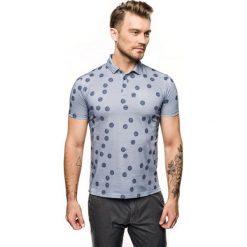 Koszulka polo edberg niebieski. Niebieskie koszulki polo Recman, m. Za 169,00 zł.