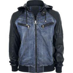 RED by EMP Two Minutes To Midnight Kurtka czarny/niebieski. Niebieskie kurtki męskie jeansowe marki Reserved, l. Za 324,90 zł.