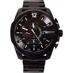 Diesel - Zegarek DZ4283. Czarne zegarki męskie marki Fossil, szklane. Za 1199,00 zł.