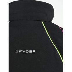Spyder TRESH  Kurtka hardshell black/white/fresh. Czarne kurtki chłopięce Spyder, z hardshellu, outdoorowe. W wyprzedaży za 743,20 zł.