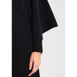 Poncza: AllSaints NARGO WRAP  Ponczo black