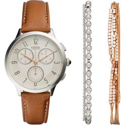 Zegarki damskie: Fossil ABILENE SET Zegarek chronograficzny braun