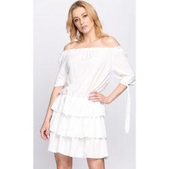 Sukienki: Biała Sukienka Two of Us