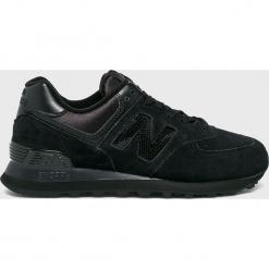 New Balance - Buty WL574FHA. Czarne buty sportowe damskie marki New Balance, z gumy. Za 349,90 zł.