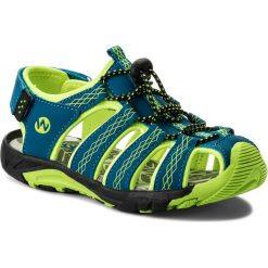 Sandały WALKY - CP44-5032 Niebieski 1. Niebieskie sandały męskie skórzane marki Walky. Za 79,99 zł.