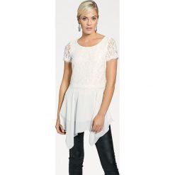 Bluzki, topy, tuniki: Koszulka w kolorze białym