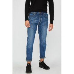 Wrangler - Jeansy Slider. Niebieskie jeansy męskie regular Wrangler. Za 349,90 zł.