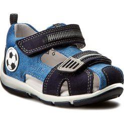 Sandały męskie skórzane: Sandały SUPERFIT - 0-00139-94 M Denim Kombi