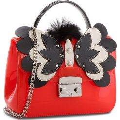 Torebka FURLA - Candy Melita 961711 B BQA5 J63 Ibisco e/Onyx. Czerwone torebki klasyczne damskie Furla, z tworzywa sztucznego. W wyprzedaży za 709,00 zł.