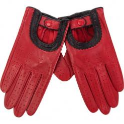 Rękawiczki Damskie WITTCHEN - 46-6L-292-2T Czerwony. Czerwone rękawiczki damskie Wittchen, ze skóry. Za 229,00 zł.