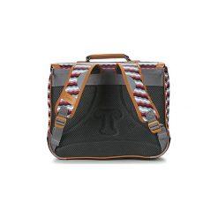 Teczki Tann's  LES BONS ENFANTS ZIG ZAG CARTABLE 38CM. Szare torebki klasyczne damskie Tann's. Za 216,30 zł.