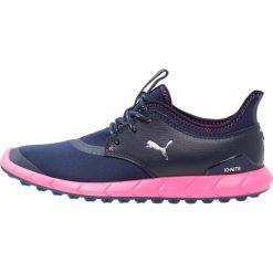 Buty sportowe damskie: Puma Golf IGNITE SPIKELESS SPORT Obuwie do golfa peacot/silver/knockout pink