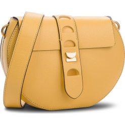Torebka COCCINELLE - CO0 Carousel E1 CO0 55 C6 0 Spark J00. Żółte listonoszki damskie Coccinelle, ze skóry, na ramię, zdobione. W wyprzedaży za 909,00 zł.