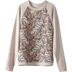Bluza żakardowa z włóknami metalicznymi. Szare bluzy damskie marki La Redoute Collections, m, z bawełny, z kapturem. Za 218,36 zł.