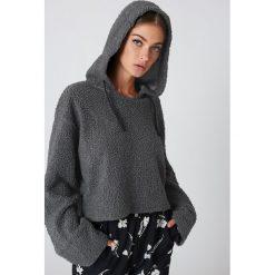 Bluzy rozpinane damskie: Native Youth Bluza z kapturem Sherpa - Grey