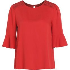Bluzki asymetryczne: BOSS CASUAL KALOKY Bluzka medium red