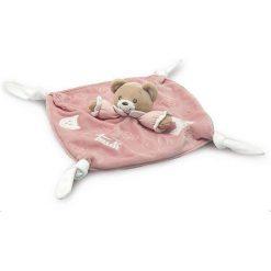 Kocyk przytulanka różowy miś Baby Bear (28246). Czerwone przytulanki i maskotki marki Trudi. Za 103,22 zł.
