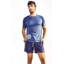 Męski T-shirt DAVID 52 Hawai Marine. Białe t-shirty męskie z nadrukiem Astratex, m, z elastanu, z krótkim rękawem. Za 103,99 zł.