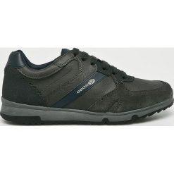 Geox - Buty. Szare buty skate męskie Geox, z materiału, na sznurówki. W wyprzedaży za 299,90 zł.