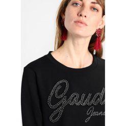 Bluzy rozpinane damskie: Gaudi LONG SLEEVE  Bluza black