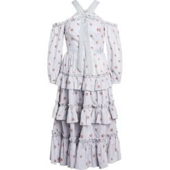 Długie sukienki: Needle & Thread VICTORIAN DITSY Długa sukienka ash blue