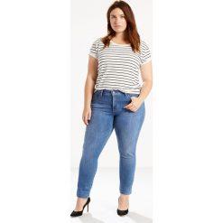 Dżinsy skinny. Brązowe jeansy damskie marki Levi's®, z obniżonym stanem. Za 499,80 zł.