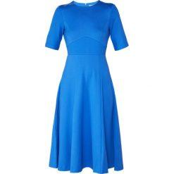 LK Bennett BETH Sukienka z dżerseju poolside. Niebieskie sukienki z falbanami LK Bennett, z dżerseju. Za 839,00 zł.