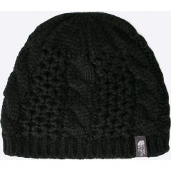 The North Face - Czapka. Czarne czapki zimowe damskie marki The North Face, z dzianiny. W wyprzedaży za 89,90 zł.