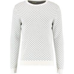 Swetry klasyczne męskie: Selected Homme SHXNEWSNOW CREW NECK Sweter marshmallow