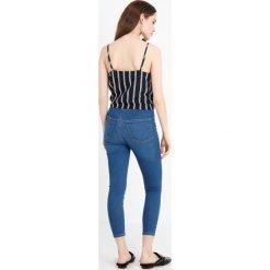 Boyfriendy damskie: Topshop Petite JONI Jeans Skinny Fit True blue
