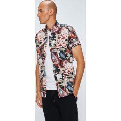 Medicine - Koszula Japan Cartoon. Szare koszule męskie na spinki marki MEDICINE, m, z bawełny, z klasycznym kołnierzykiem, z krótkim rękawem. W wyprzedaży za 39,90 zł.