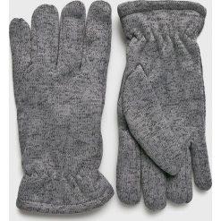 Blend - Rękawiczki. Szare rękawiczki męskie Blend, z dzianiny. W wyprzedaży za 39,90 zł.