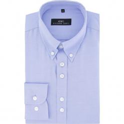 Koszula BIAGIO slim 16-03-05. Czarne koszule męskie na spinki marki TOM TAILOR DENIM, l, z bawełny, button down, z długim rękawem. Za 149,00 zł.