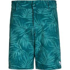 Abercrombie & Fitch CORE  Szorty kąpielowe green. Zielone kąpielówki chłopięce Abercrombie & Fitch, z elastanu. W wyprzedaży za 132,30 zł.