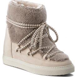 Buty INUIKII - Sneaker Curly 70203-16-W Curly Taupe. Brązowe buty zimowe damskie Inuikii, z nubiku. Za 1459,00 zł.