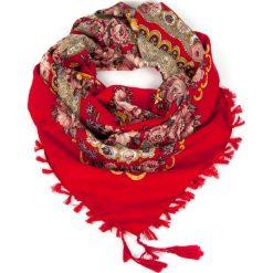 Chusty damskie: Art of Polo Chusta damska Ludowa wariacja czerwona
