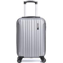 "Walizki: Walizka ""Lome-E"" w kolorze srebrnym – 33 kg x 45 kg x 20 cm"