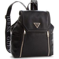 Plecak GUESS - HWVG71 09320 BLA. Czarne plecaki damskie Guess, ze skóry ekologicznej, eleganckie. Za 599,00 zł.