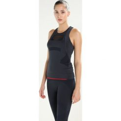 Topy sportowe damskie: adidas by Stella McCartney TRAIN TANK Top dark grey