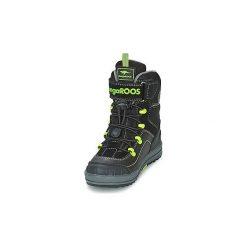 5cdae6d3 Za 263,20 zł Śniegowce Dziecko Kangaroos ADRIAN. Czarne buty chłopięce  zimowe KangaROOS. Za 263,20 zł