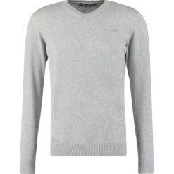 Swetry klasyczne męskie: Teddy Smith PULSER Sweter gris chine