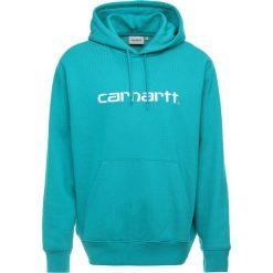 Carhartt WIP HOODED Bluza z kapturem cauma/white. Zielone bluzy męskie rozpinane Carhartt WIP, l, z bawełny, z kapturem. Za 369,00 zł.